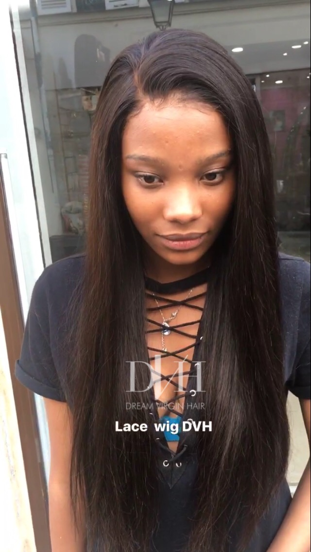 Lace Wig (Perruque) lisse