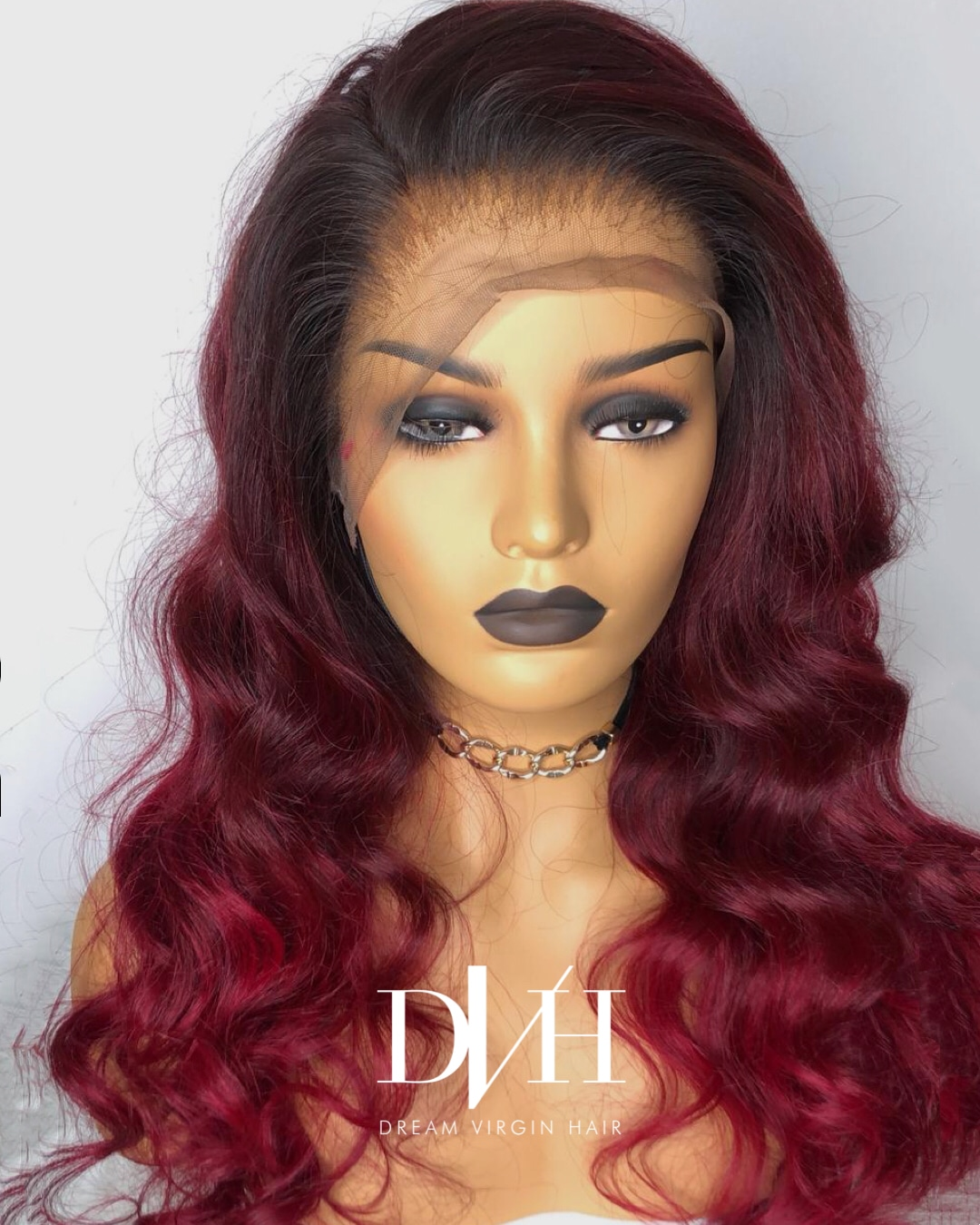 lace frontal rouge